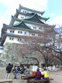 彦根城とひこにゃんです