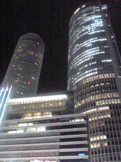 名古屋駅前のビアガーデン