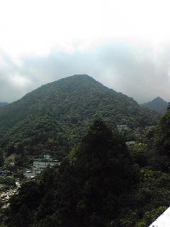 御在所岳は雲の中