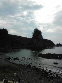 能登半島厳門の風景
