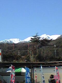 木曽駒ケ岳です