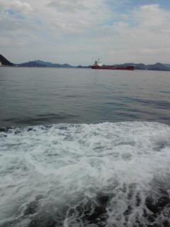 瀬戸内海に来ています