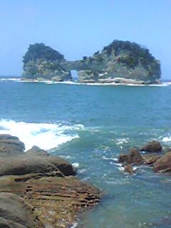 南紀白浜の海