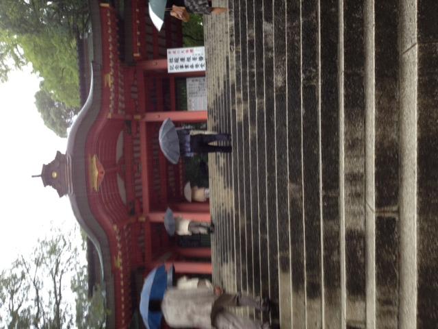 雨の香取神宮